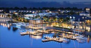 Phối cảnh dự án Swan Bay Đại Phước