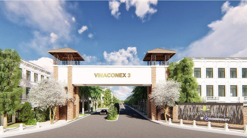 cổng chào khu dân cư Vinaconex 3 Phổ Yên Residence - DỰ ÁN BIỆT THỰ CROWN VILLAS