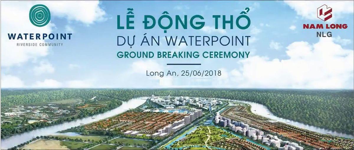le dong tho du an waterpoint long an - DỰ ÁN WATERPOINT BẾN LỨC LONG AN NAM LONG