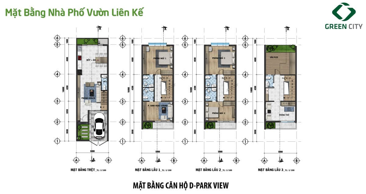 mat bang thiet ke can shophouse loai d green city - DỰ ÁN GREEN CITY QUẬN 9