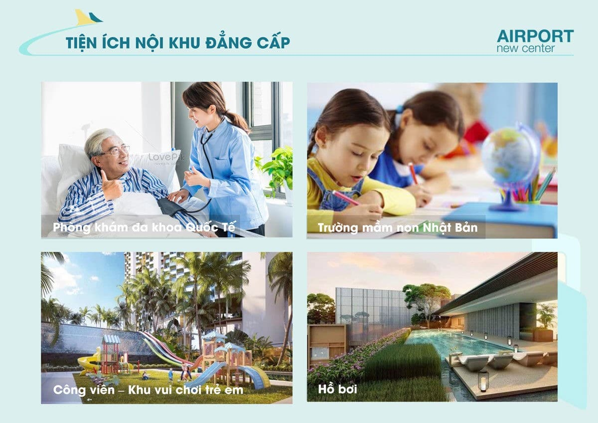 tien ich noi khu du an airport new center - DỰ ÁN AIRPORT NEW CENTER LONG THÀNH ĐỒNG NAI