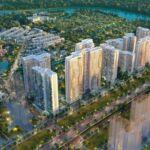 Phối cảnh tổng thể dự án căn hộ chung cư Masteri Centre Point Quận 9 Đường Nguyễn Xiển chủ đầu tư Masterise Homes
